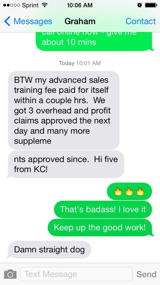 Advanced Sales Amp Supplement Training Program